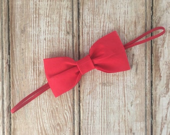 Red bow band