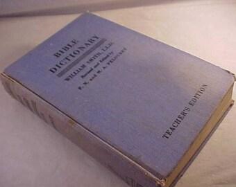 1948 Bible Dictionary Teacher's Edition