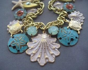Ocean Bracelet - Shell Bracelet - Beach Jewelry - Ocean Jewelry - Beach Bracelet - Nautical Jewelry - Seashell Jewelry - Nature Jewelry