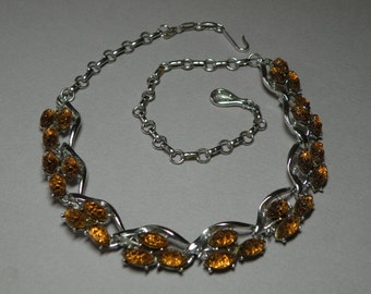 Topaz Sugar Stone Necklace