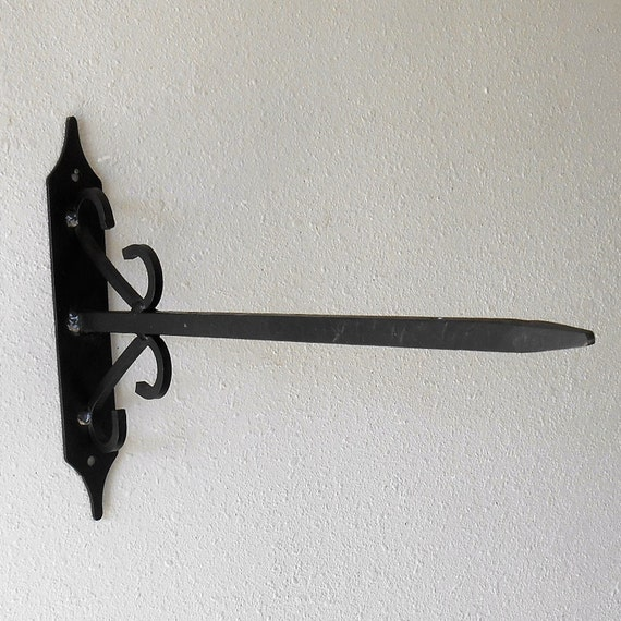 Steel Decorative Bracket for Hanging Signs Wrought Iron