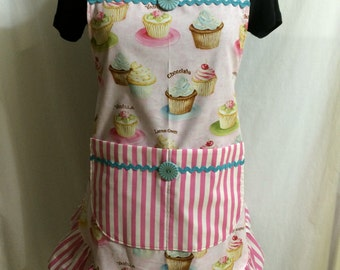 Cupcakes with Frosting Apron