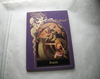 Dragons Book Time Life Enchanted World Series 1984