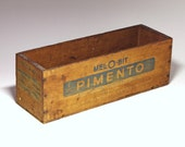 Vintage Cheese Box - Mel-O- Bit 5 lb - circa 1940's