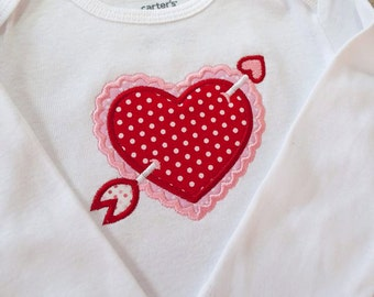 Valentines Day Shirt  - Valentine's Day Pictures - Valentines Day - First Valentine's Day - Baby Girl Valentines Day Outfit -