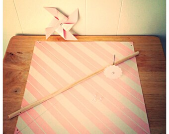 "Custom DIY Giant Pinwheel ""Bouquet"" kit"