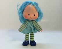 Strawberry Shortcake Blueberry Muffin Vintage Doll 1980