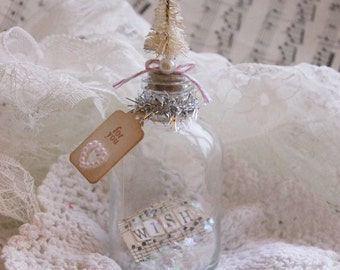 Mini Christmas Wish Bottle