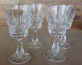 4 Glases Waterford Crystal Wine Glasses in the Kylemore Pattern