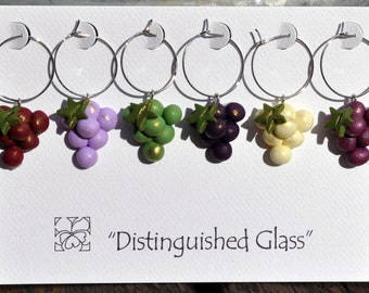 Grapes Wine Charms