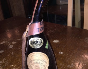 Dickel 1964 Tennessee Sour Mash Whisky Unique & Fun Bottle as seen on Star Trek,  Cool Mid-Century Decor, Bourbon Unusual and Rare