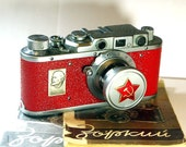 1951! Made in USSR ZORKI camera rare Russian Leica  with -=LENIN=-