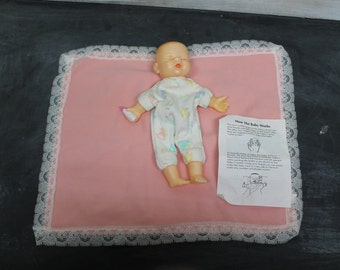 Vintage Living Baby Doll Puppet