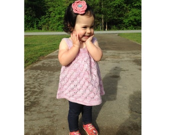 Evalina Baby Dress PDF pattern newborn, 3, 6, 9, 12, 18 months 2t 3t 4 5 6 7 8 9 10 11 12 13 years