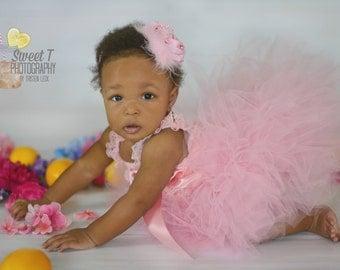 1st Birthday Tutu, Pink Tutu Set, Toddler Tutus, Girls Tutu Skirt, Newborn Tutu, Toddler Tutu, Princess Tutu