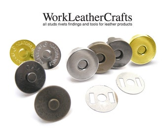 20sets 14mm Magnetic Snap Closure / THICK