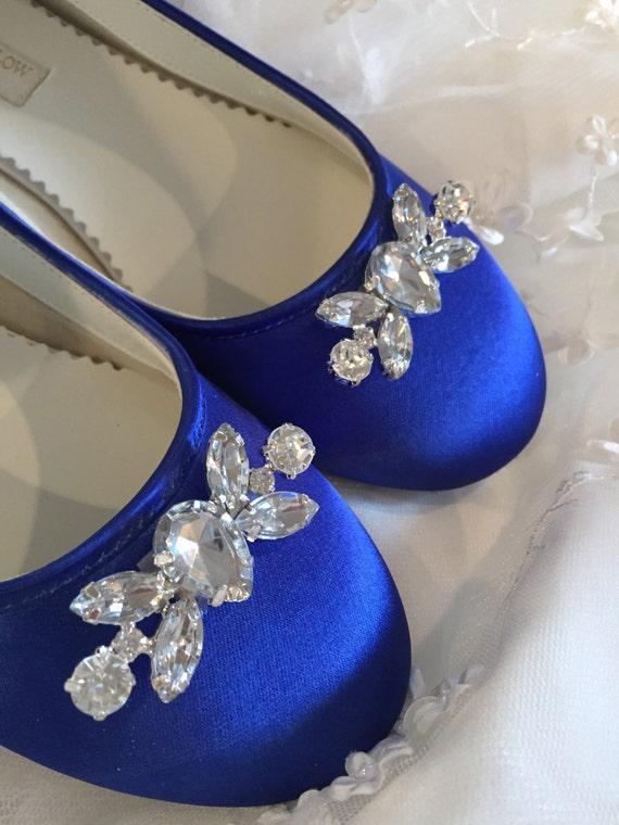 Sapphire Blue Flats Royal Blue Wedding Shoes Wedding Shoes