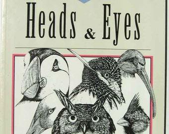 Birds Heads & Eyes By Jack B. Kochan, Illustrated Reference Book for Artists and Bird Lovers, 1st Edition