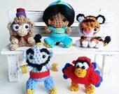 Aladdin and Friends Amigurumi