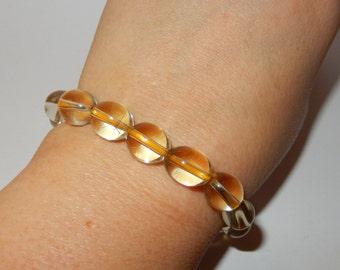 Citrine Beads/Bracelet