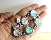 Custom Travel Map Bracelet, Wanderlust, Journey, World Traveller, World Map, Mom Bracelet, Vacation Destination, Gift for Her