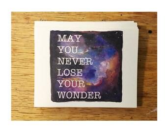 Wonder (folded cards) pack of 10