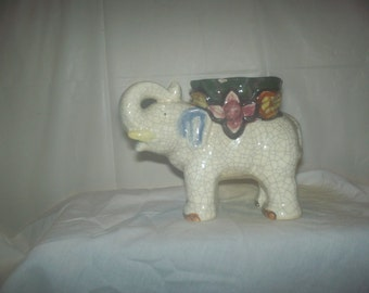 Elephant planter pot