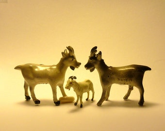 GOATS, BILLY GOATS, cast, terrarium or model train supplies