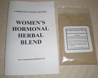Women's Hormonal Herbal Blend, black cohosh, ashwagandha, dong quai