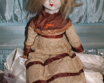 Spooky highly active vintage porcelain haunted doll occult magic