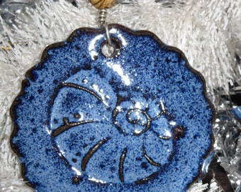 Handmade Ceramic Ornament - Shell