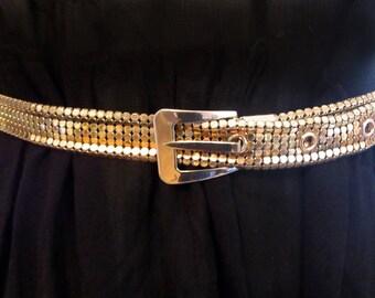 vintage Gold Belt S