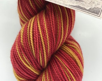 Gryffindor Pinstripes Self Striping... Canon Hand Dyes Charles Self Striping Sock Yarn