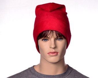 Red Phrygian Cap Simple Liberty Hat Mens Hat Women 4 sizes available