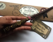 Technomancer Wand, Harry Potter inspired Wizard Wand With Wrapping