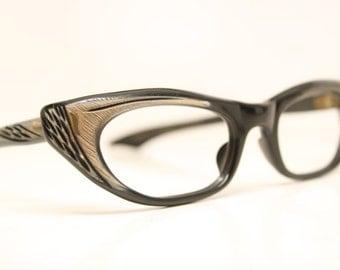 Unique NOS Vintage Cat Eye Glasses cat eye glasses vintage cateye frames eyeglasses NOS