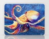 Octopus Art - iPad Hard or Folio Case - Designer Device Cover