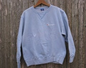 Vintage Baby Blue Champion Sweatshirt Mens Large