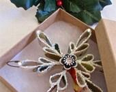 Vintage Snowflake Ornaments