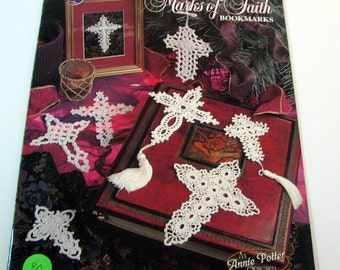 Bookmarks of Faith Crochet Patterns by Annie Potter