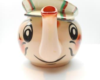 Vintage Wade Teapot , Andy Capp Comic Character Teapot