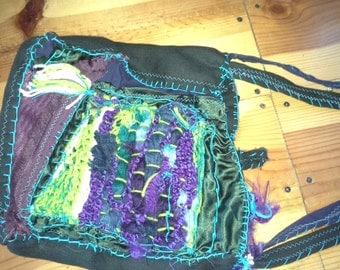 Crazy Quilt Custom Bag