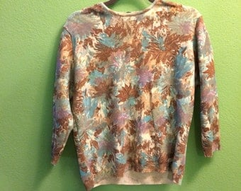 2 belgian acrylic nylon sweaters 60s 1960s xl plus size emepe brand