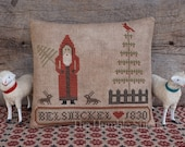 Belsnickel...Primitive Cross Stitch Pattern By The Humble Stitcher
