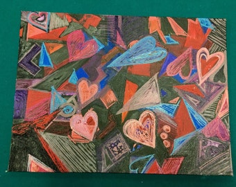 Abstract Love - Original Painting