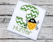 Bug Birthday Shirt, Personalized Insect Birthday, Bug Birthday, Insect Birthday, Choose your fabric colors