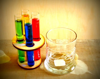 Dr Jekylls Serum Holder Mad Scientist Lab Test Tubes