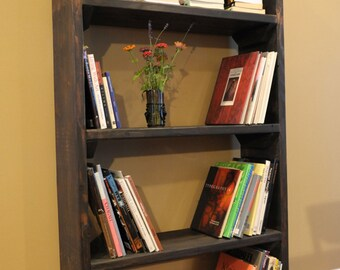 "24"" Narrow Bookshelf / book case / storage tower /"
