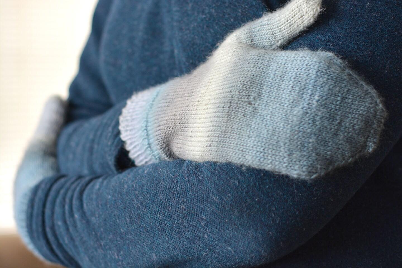 Plain Gloves Knitting Pattern : Instant Download - PDF