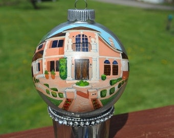 Brand New Home Custom Hand Painted Ornament  - sold-